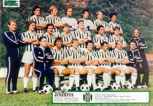 Ювентус 1978- 1979 сериЯ a