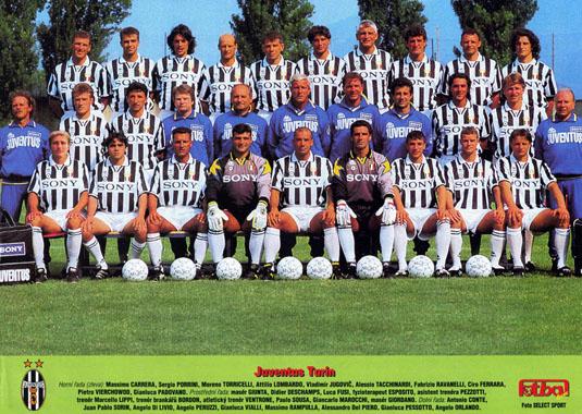 1995 парма ювентус